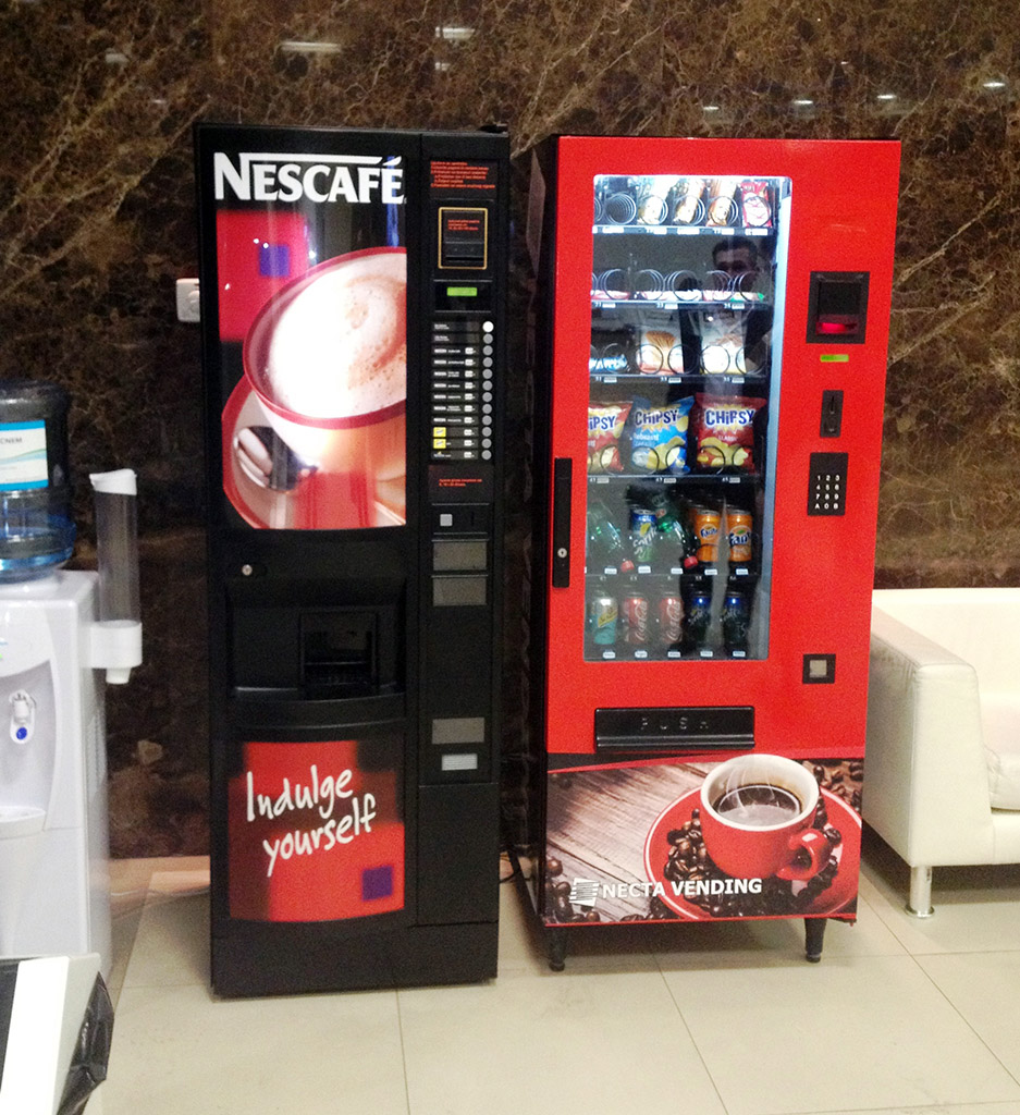 Samouslužni automati za kafu