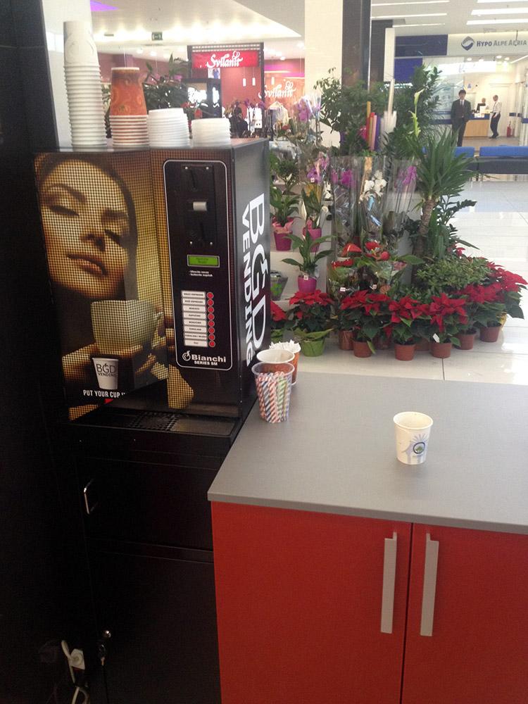 Automat - kafa za poneti
